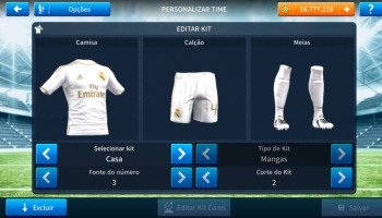 Dream League Soccer: kits atualizados do Real Madrid [2019/2020]