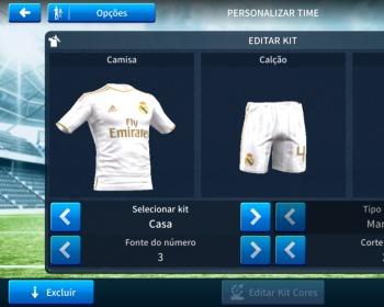 Dream League Soccer: kits atualizados do Real Madrid [2019/2020]