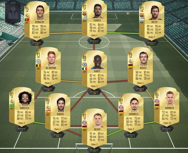 Dream Team - FIFA 18