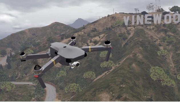 GTA V MOD Drone