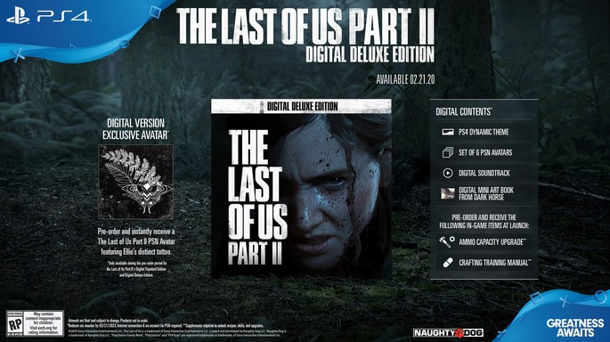 Edição Digital Deluxe The Last of Us 2