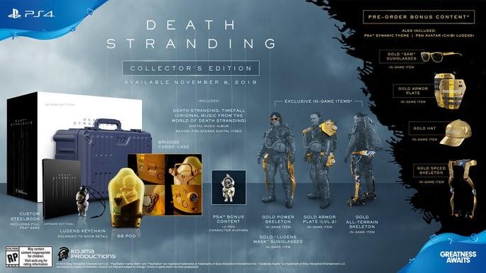 Edições de Death Stranding