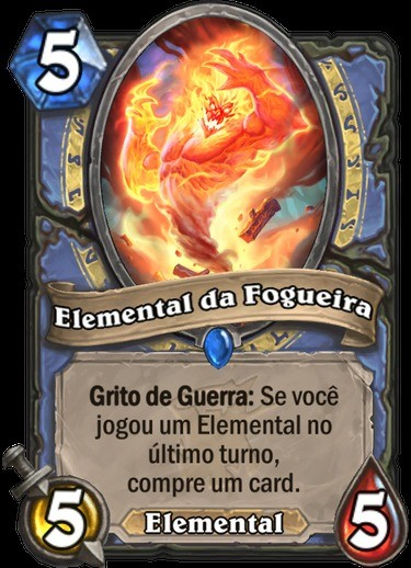 Elemental da Fogueira - Hearthstone