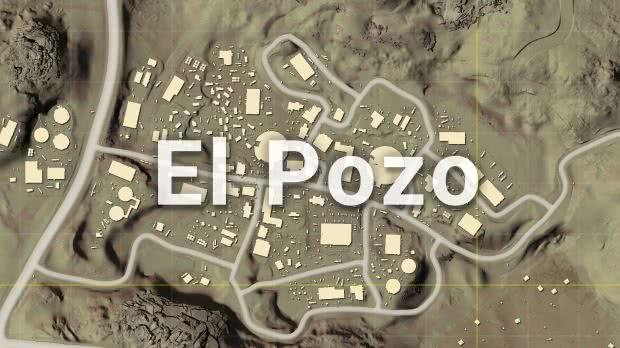 El Pozo Mapa Miramar PUBG