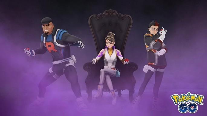 Líderes Equipe Go Rocket - Pokémon GO