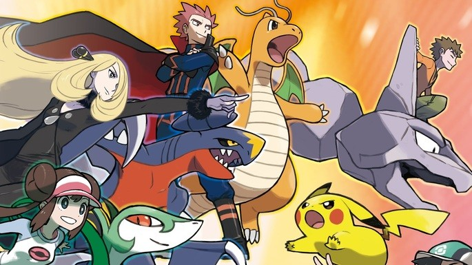 Equipes Pokémon Masters