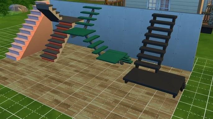 escadas the sims 4