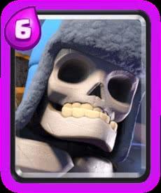 Esqueleto Gigante Clash Royale