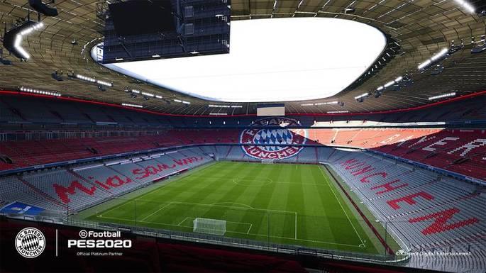 Estádio Bayern PES 2020