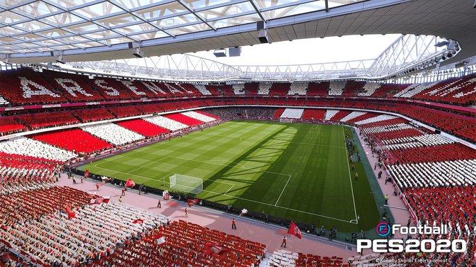 Estádio do Arsenal PES 2020