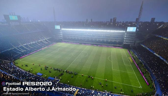 Estádio do Boca Juniors PES 2020