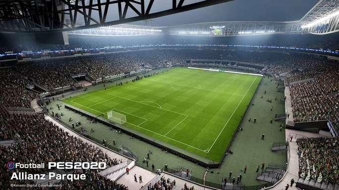Estádio do Palmeiras PES 2020