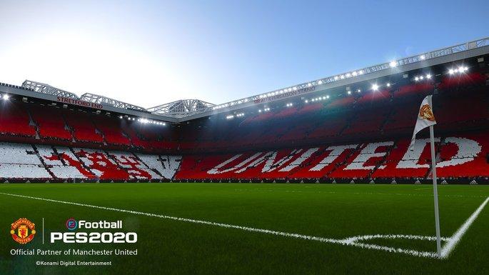 Estádio Manchester United PES 2020