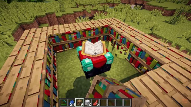 Estantes - Minecraft