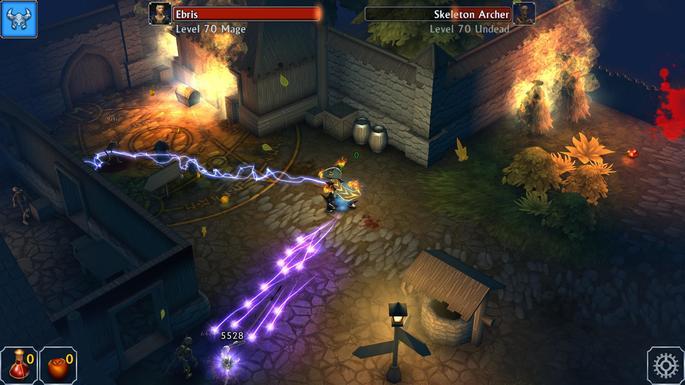 Eternium - jogos estilo Diablo