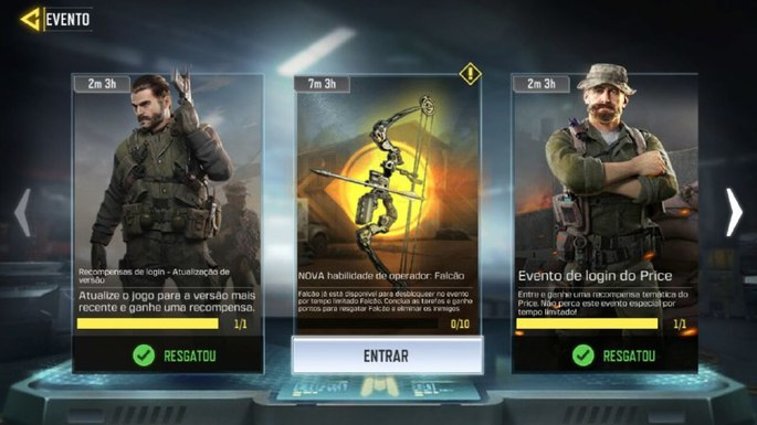 Eventos - Call of Duty Mobile - Créditos