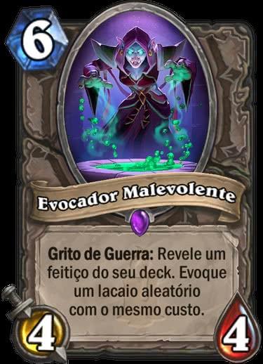 Evocador Malevolente - Hearthstone