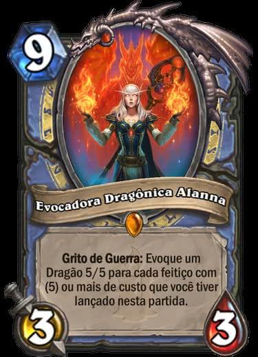 Evocadora Dragônica Alanna