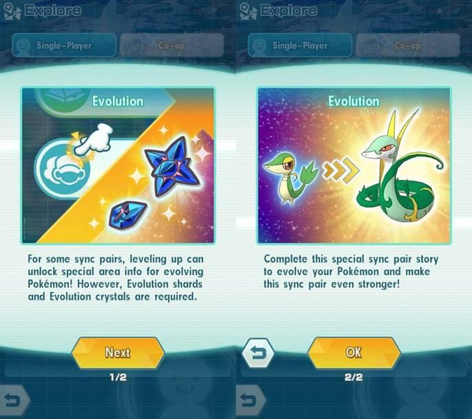 Evolução Pokémon Masters