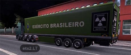 Exército brasileiro mod euro truck simulator 2