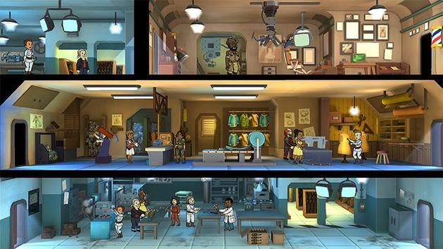Fallout Shelter sobrevivencia