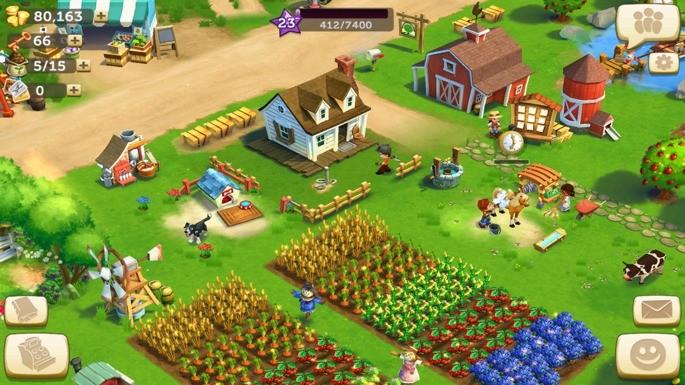 Farmville 2 iphone