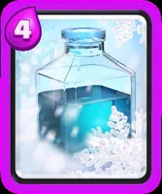 Feitiço de Gelo - Clash Royale
