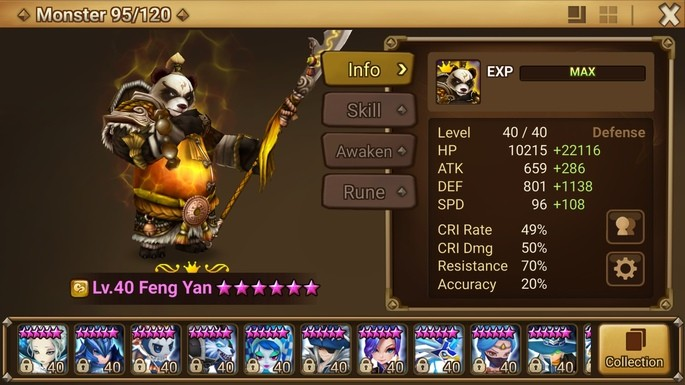 feng yan summoners war