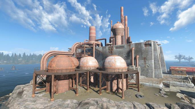 Entornos oxidados Fallout 4