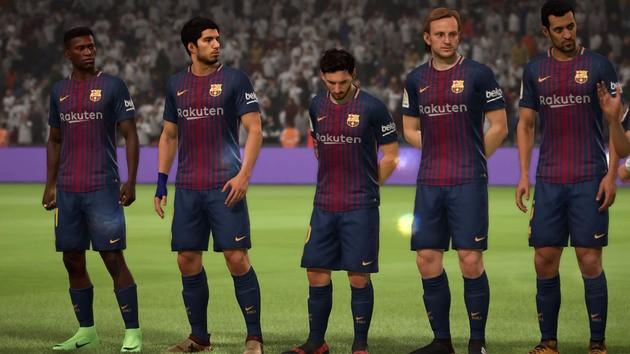 Barcelona Modo Carreira - FIFA 18