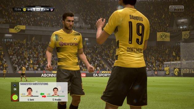 Substituições - FIFA