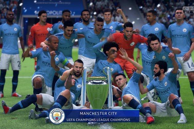 Champions League - FIFA 19 Modo Carreira