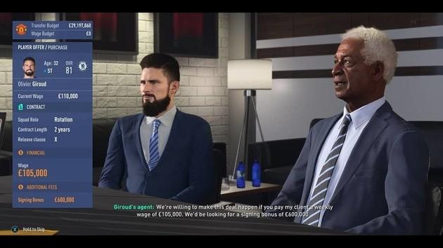 Contratar jogadores - Modo Carreira FIFA 19
