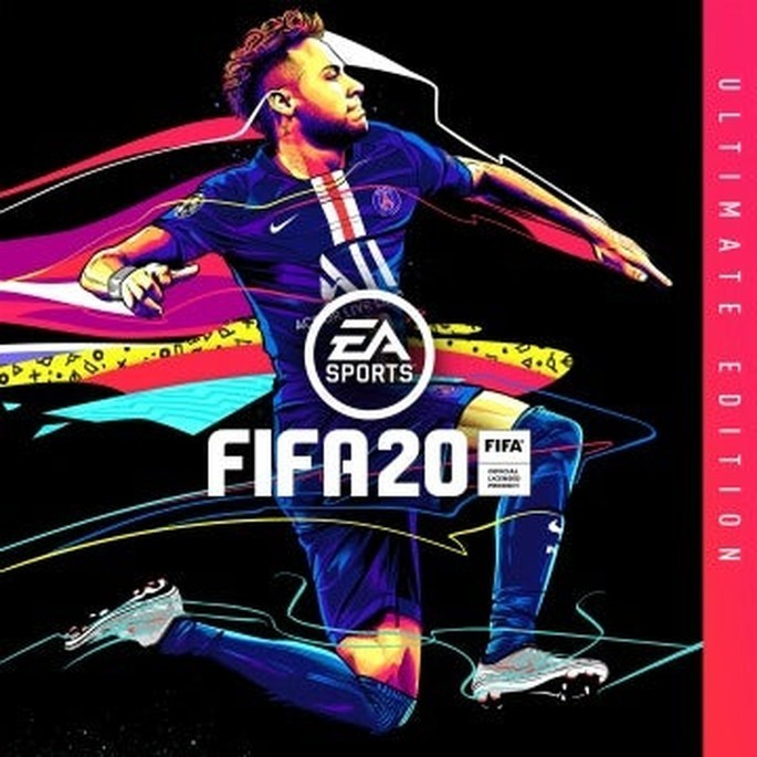 FIFA 20 capa Neymar