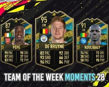 FIFA 20: revelado o Time da Semana 28 (Moments) do Ultimate Team!