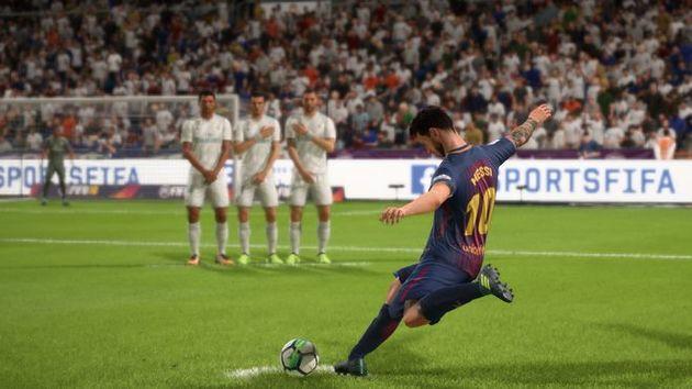 Cobrança de Falta - FIFA