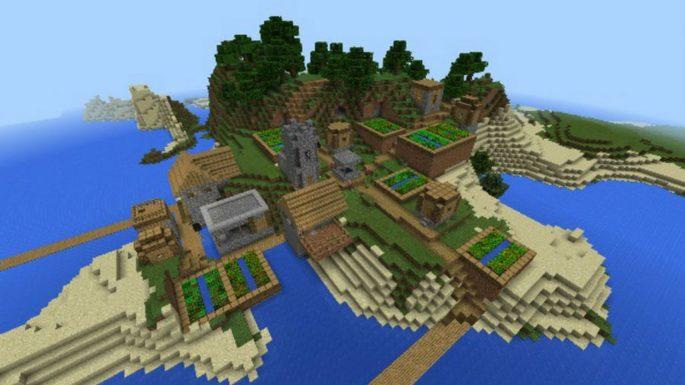 Fortaleza na ilha