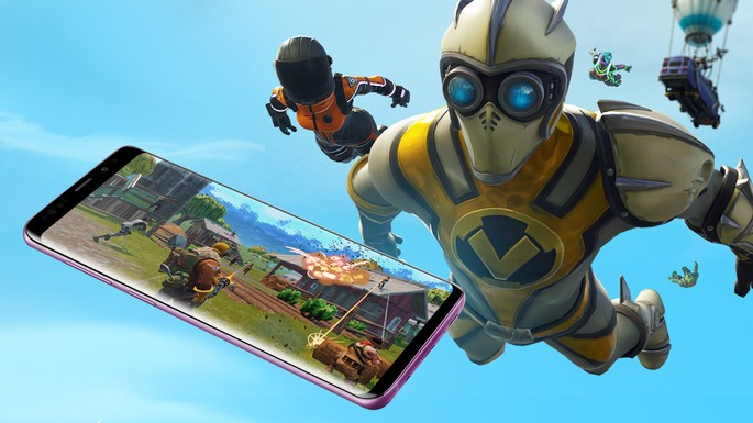 Celulares Android para Fortnite Mobile