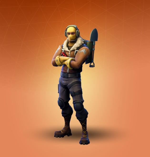 Fortnite Skin Raptor