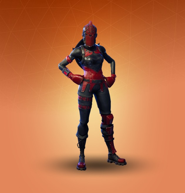 Fornite Skin Red Knight