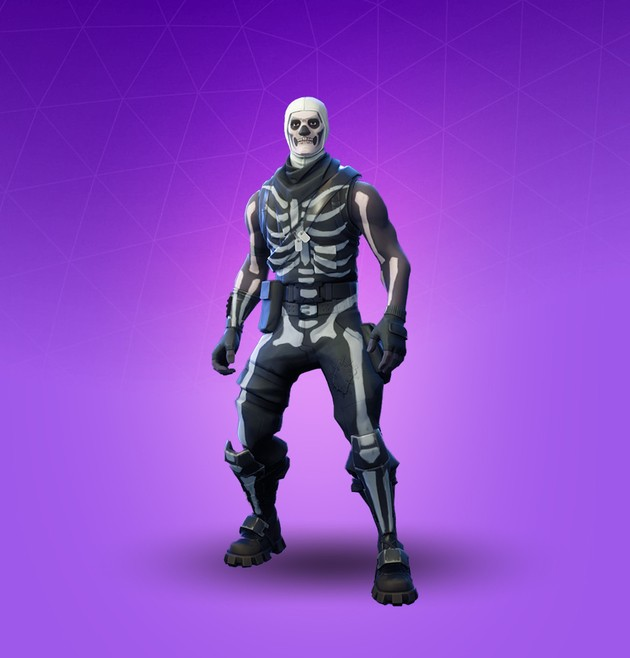 Fortnite skin Skull Trooper