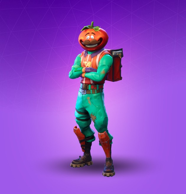 Fortnite Skin Tomatohead