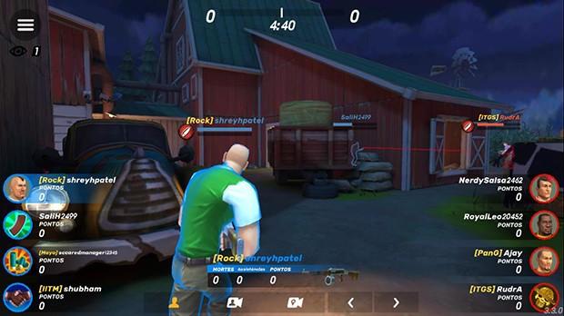 FPS Vista Fazenda Noite GOB