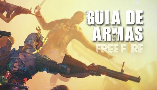 Free Fire: conheça todas as armas e saiba quais as melhores!