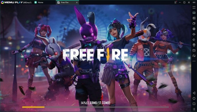 free fire nox app player
