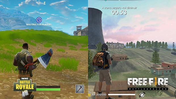 Free Fire Vs Fortnite Saiba Qual O Battle Royale Ideal Para