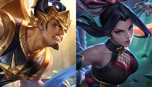 Gatotkaca e Hanabi - Mobile Legends