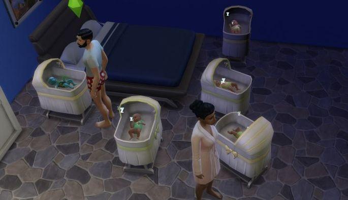 Gêmeos - The Sims 4