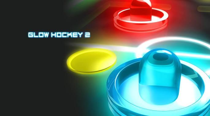 Glow Hockey 2 android