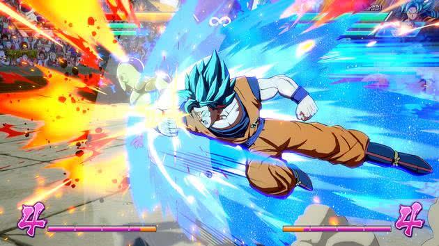 Goku Super Sayajin Deus - Dragon Ball Fighter Z